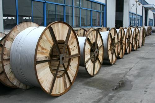 High Performance ACSR Aluminum Wire For Overhead Transmission Lines