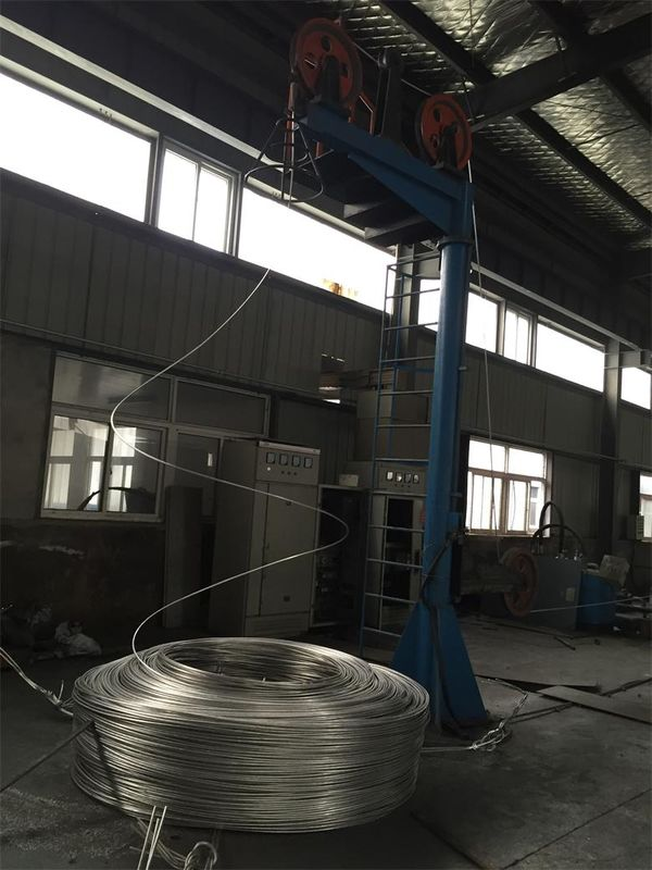 Anti - Corrosion Overhead Line Conductor With Bare Concentric Lay Stranded Galvanized Steel Wire